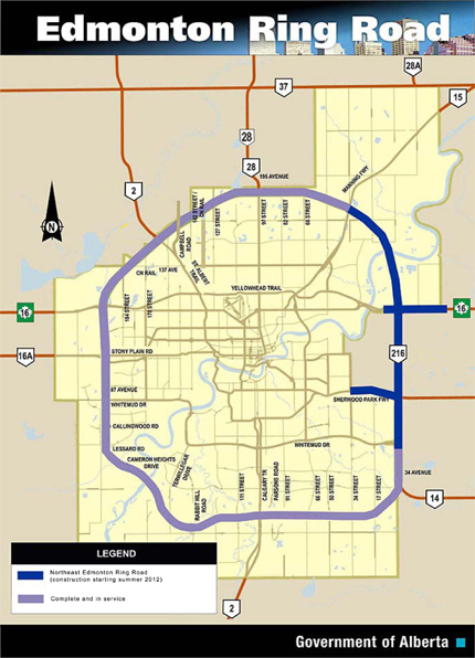anthony henday map