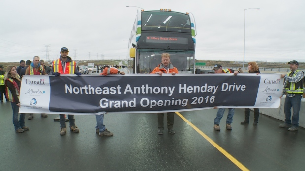 anthony henday opening
