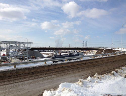 Kinder Morgan Edmonton Rail Terminal Overpass