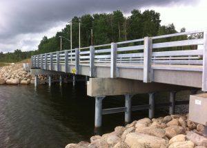 Bridge Design Build of Mikikwan Bay Bridge - Rapid-Span