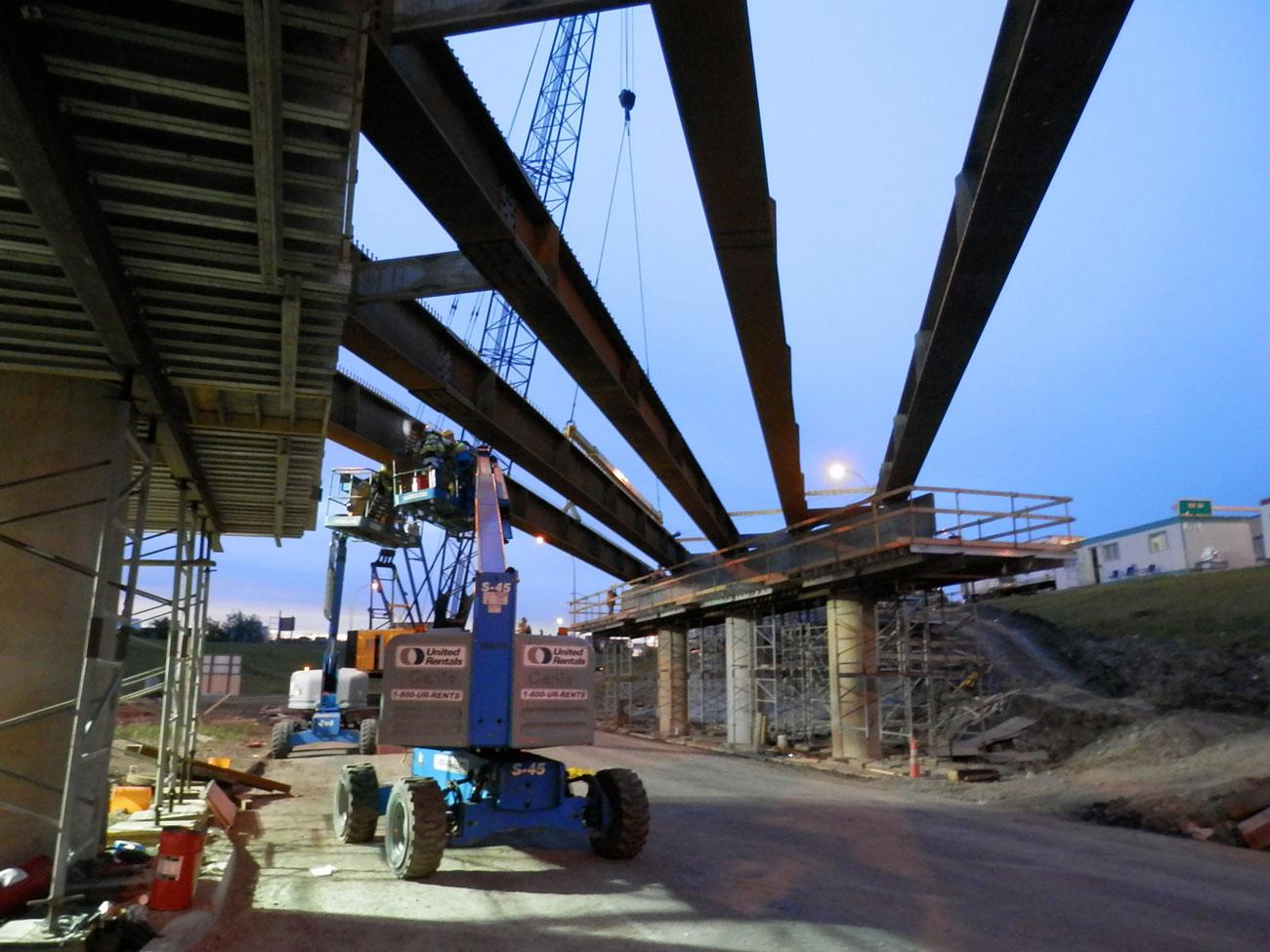 Steel fabrication of bridge components - Rapid-Span