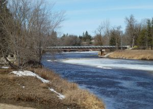 Water Street Bridge Manitoba Canada